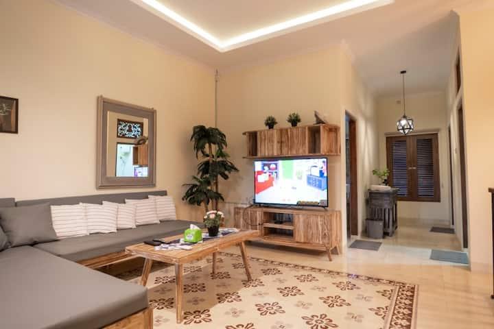 Rustic home close to Kraton & Prawirotaman Area