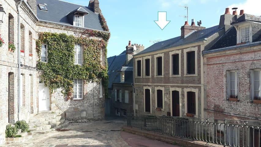 [Gîte du bord de plage©] Maison du port - Saint-Valery-en-Caux - Ev