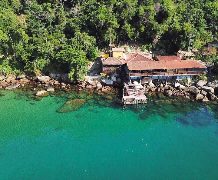 Pousada Convés - Praia de Araçatiba - Ilha Grande