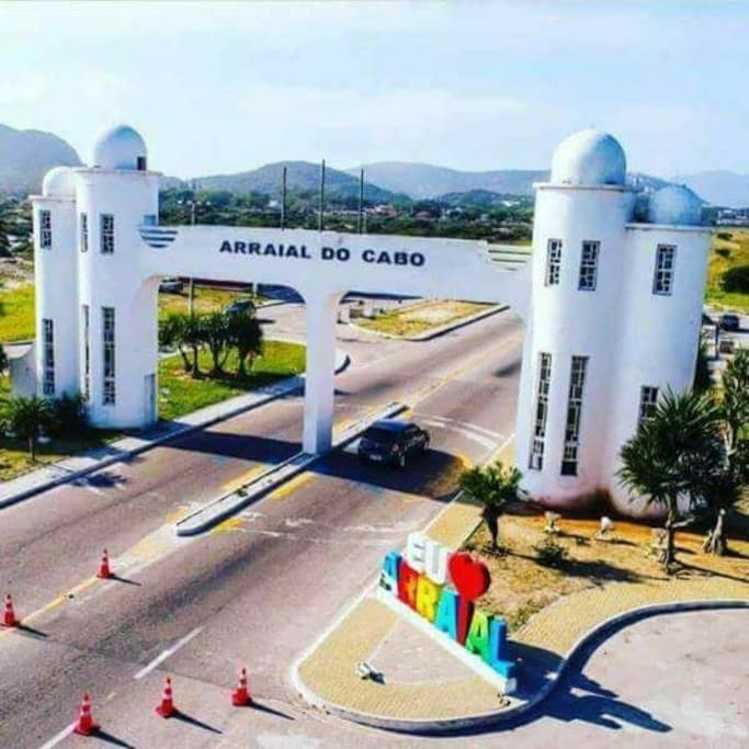 Entrada de Arraial do Cabo