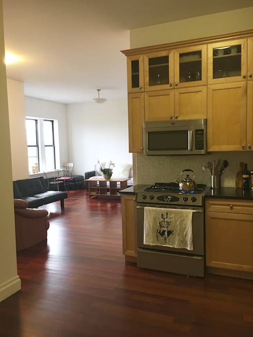 Large Kitchen Leading to Dining