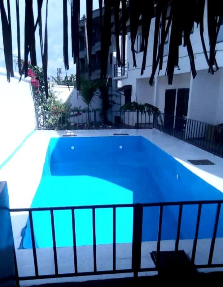 Appartement 3 chambres -  résidence avec piscine
