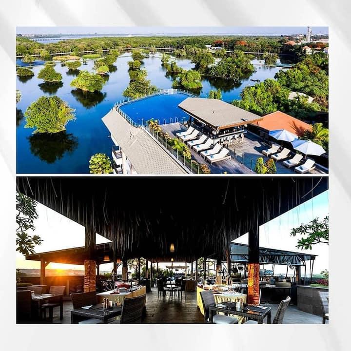Benoa Hotel 1 Deluxe Breakfast NEst Rooftop Pool