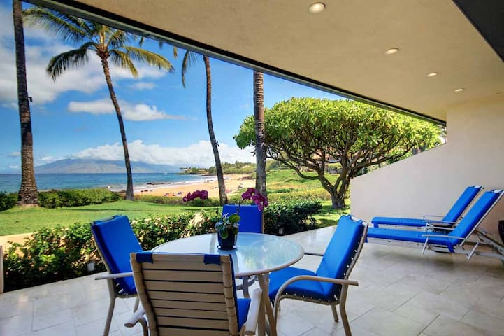 Spectacular Ocean Views-Breathtaking Ground Floor Unit Makena Surf E-104