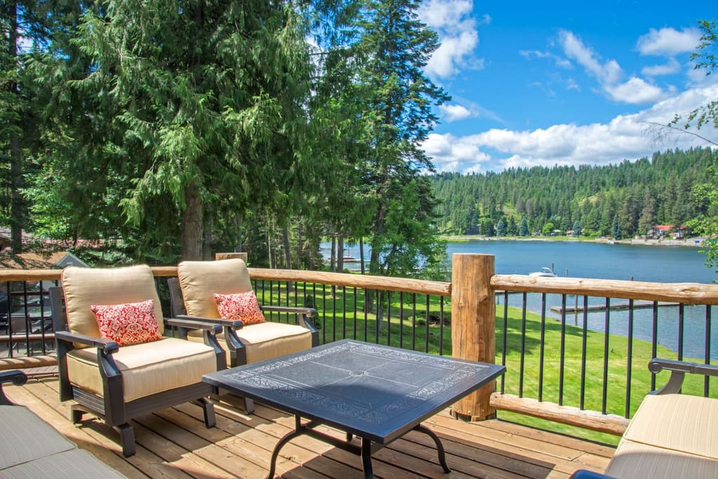 Serene views and gorgeous patio furniture