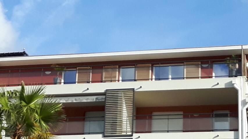 T3 neuf avec 2 terrasses et pk privé sécurisé - Le Lavandou - Condominio
