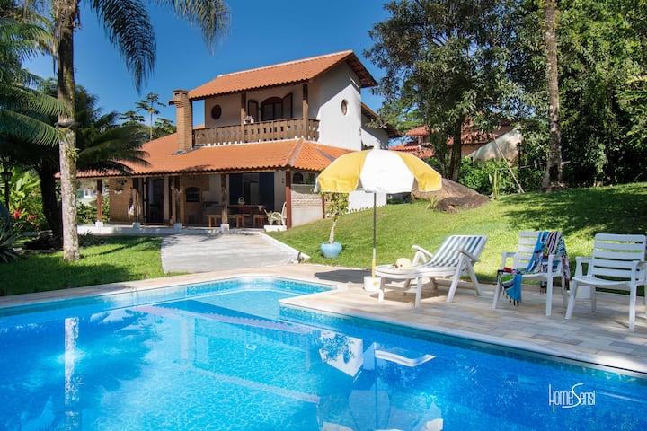 Cozy House + Pool - Pretty Condo - Caragua -BR