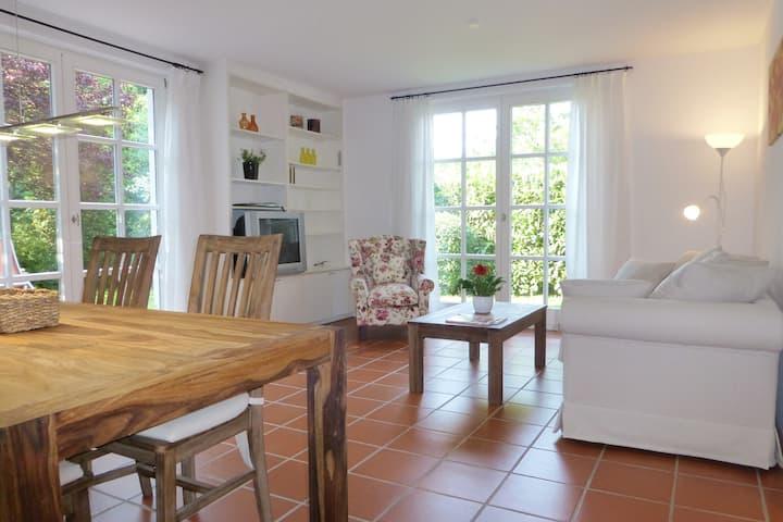 Calm 3room flat with garden, 2 separate bedrooms
