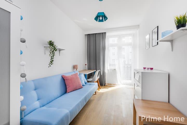Gdynia Centrum Prime Home Apartamenty pokój 1-os.