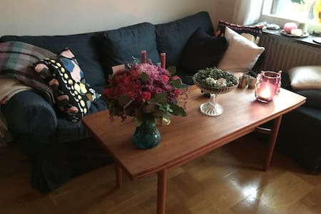 Cosy apartment with sunny balcony - Stockholm