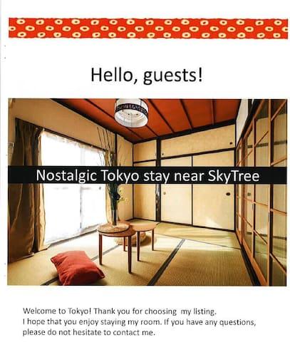 Asakusa/Sky Tree Free Wifi Brand New 301 - Sumida - Appartement