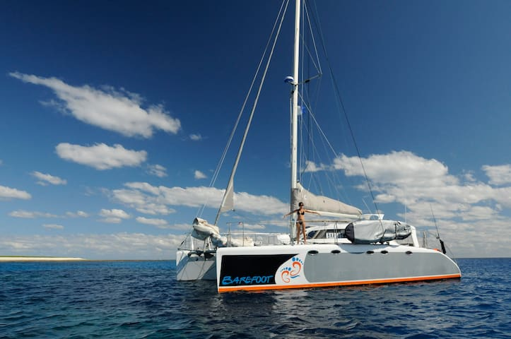 Your own private luxury cruising catamaran DAYTRIP