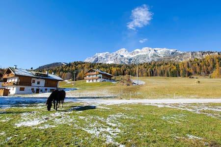Immerso nel verde a Cortina d'Ampezzo - Cadin di Sotto - Huoneisto