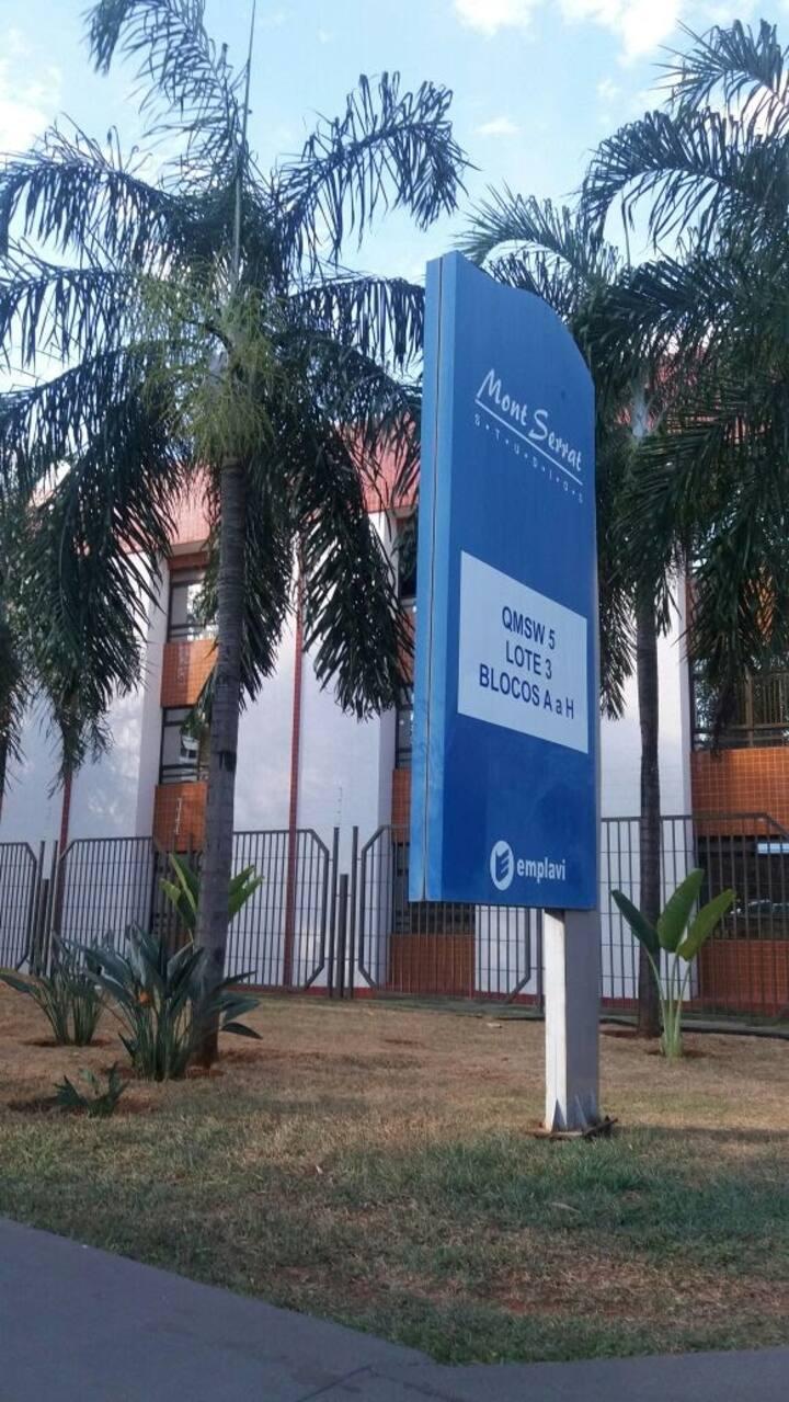 Kitnet perto do centro de Brasília.