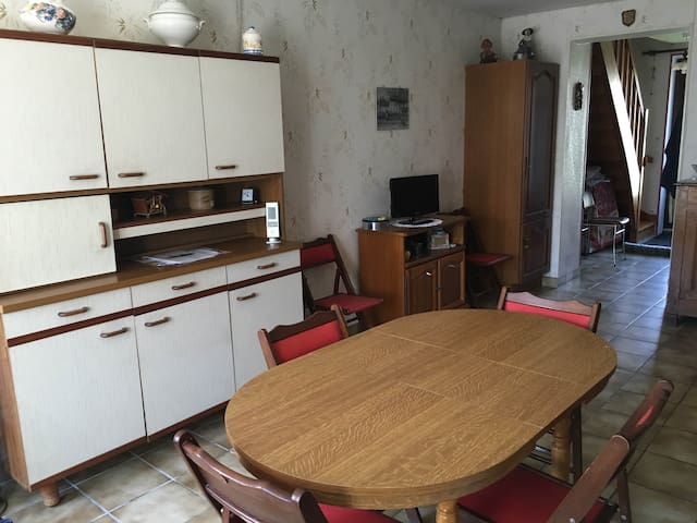 Maison de village - Autruy-sur-Juine - Huis