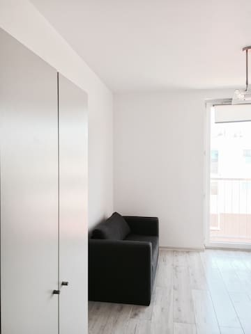 Białe studio - Kraków - Appartement