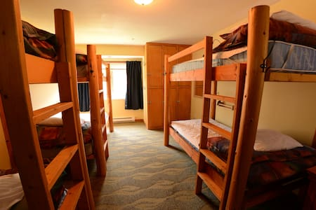 An example of one of our 6 bed dorm rooms.  Rooms don't all look exactly alike.