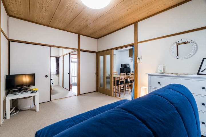 Private Spacious Apt-  Free portable wifi (OSAKA) - Suita - อพาร์ทเมนท์