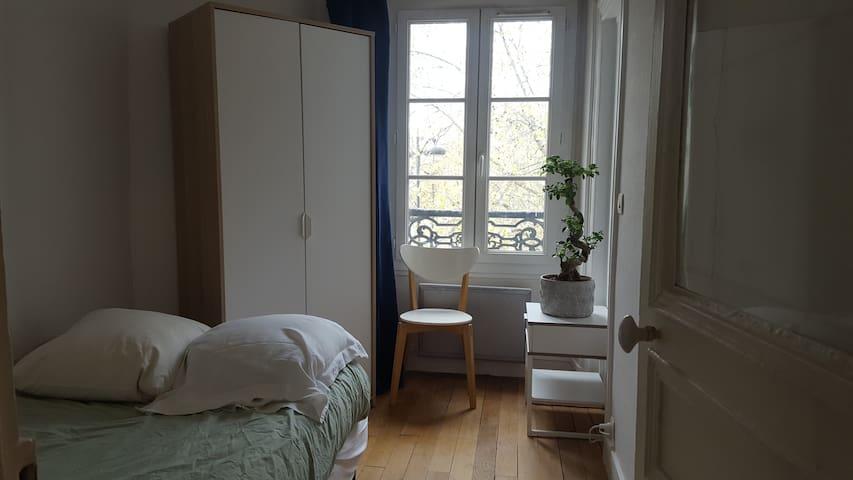 Chambre au calme à Voltaire/Père Lachaise