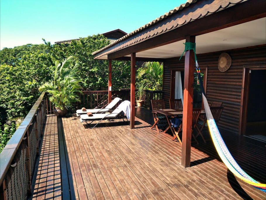 Beautiful wooden Terrace