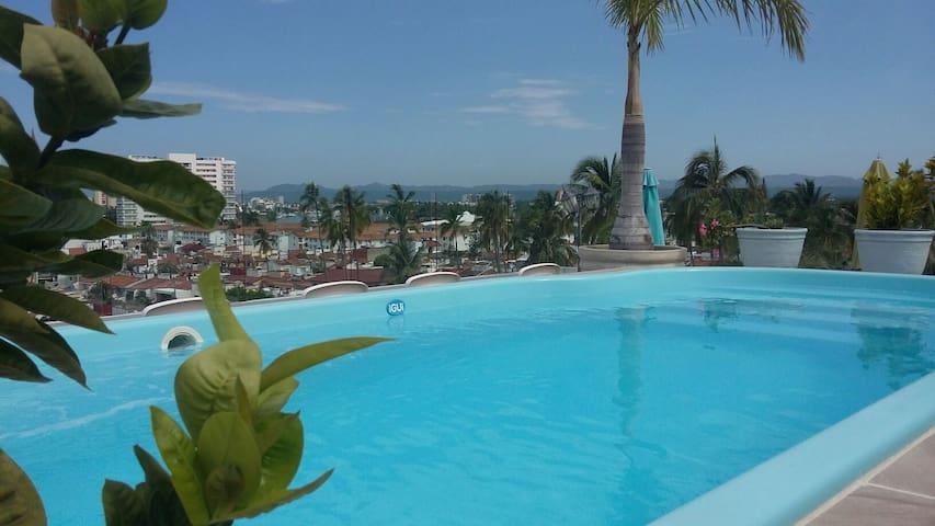 Serena 505 Great location - Puerto Vallarta, Jalisco, MX - Lägenhet