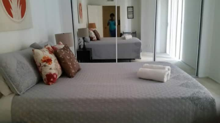 BEST DEAL- Cozy 1BD w/Pool & Balcony by The Grove!