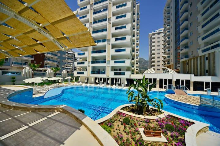 Yekta Towers Residence - Alanya - Serviced flat