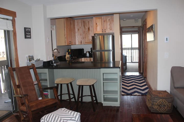 Cozy, Remodeled Condo next to bus stop! low Rates!