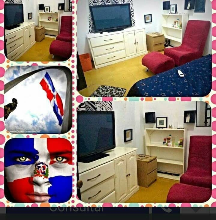 Dominican guest house alquilo habitaciónes
