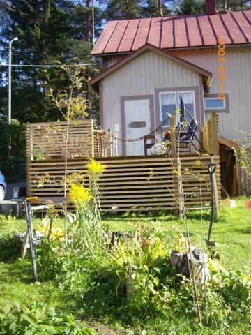 Perinnetalo perinnemaisemassa / House with garden. - Pori - Huis