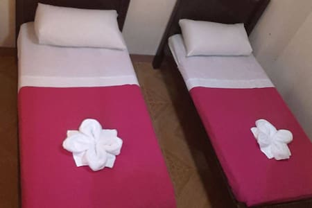 Room with 2 Single Bed without Balcony - Talisay City