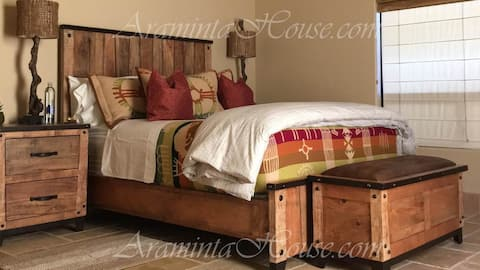 This wonderful Queen bed is yours for the stay.