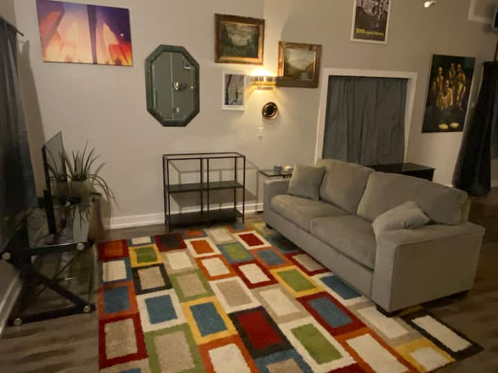 Private studio loft - great for business travelers