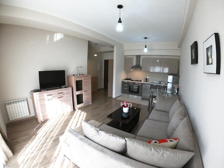 1 bedroom in m2 tamarashvili 18 floor