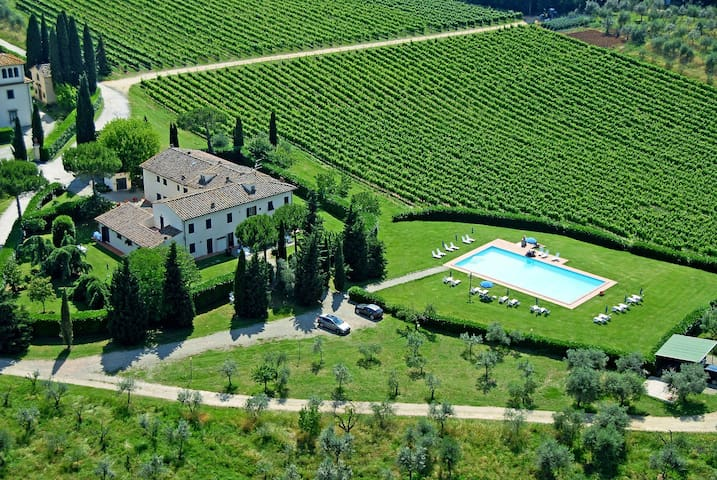 2 rooms apt between the wineyards Montignana - San Casciano in Val di pesa - Flat