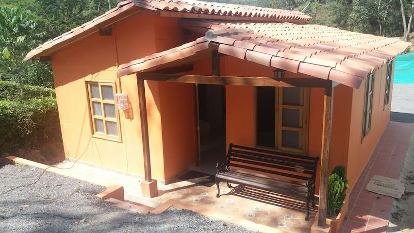 Solo 5 minutos de San Gil y Curiti - Curití - Cabin
