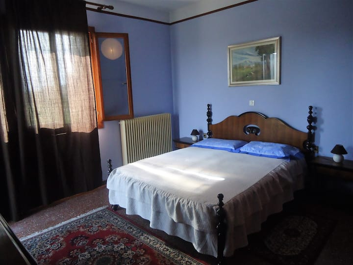 Brenta House: blu room.