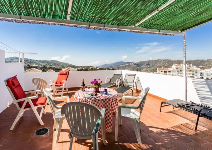 Alborada, apartamento soleado y preciosas vistas.