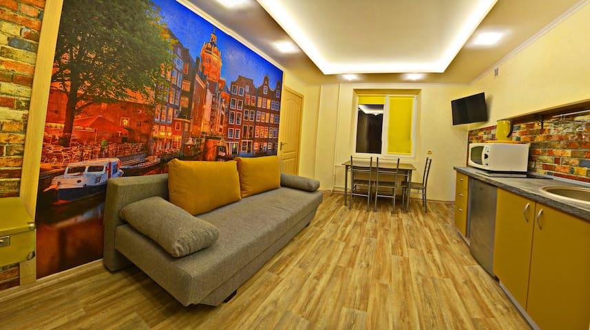 "ЛЮКС апартаменты  в Центре ""Амстердам"""
