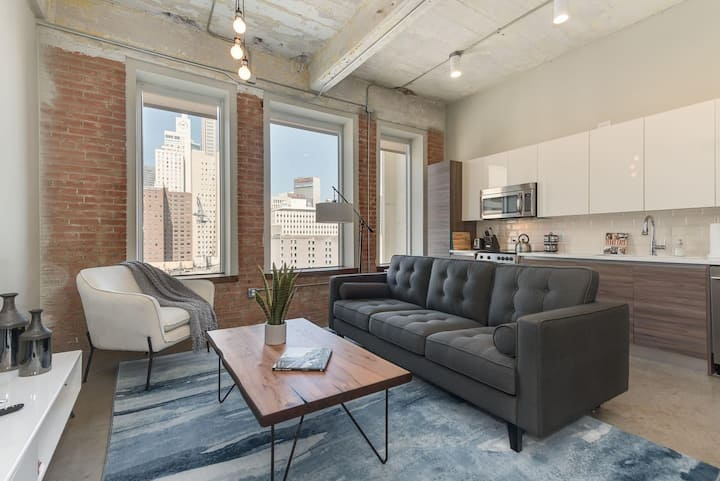 Jurny | Convention Center | Touchless 2bd Downtown