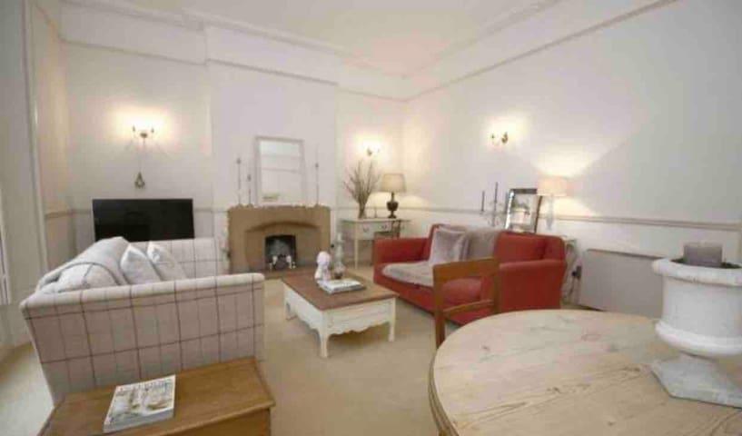 Georgian garden apartment