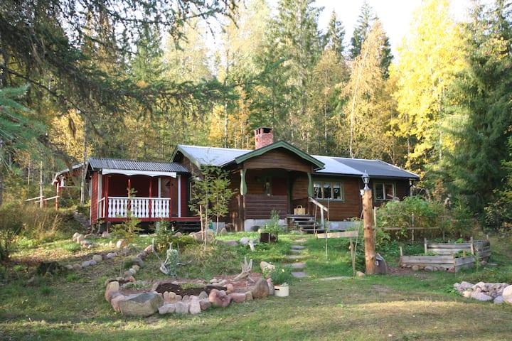 Auszeit-Oase mit Sauna in Dalarna, Schweden