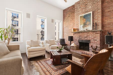 Gorgeous, Sunny Penthouse w/ high ceilings - New York - Apartment