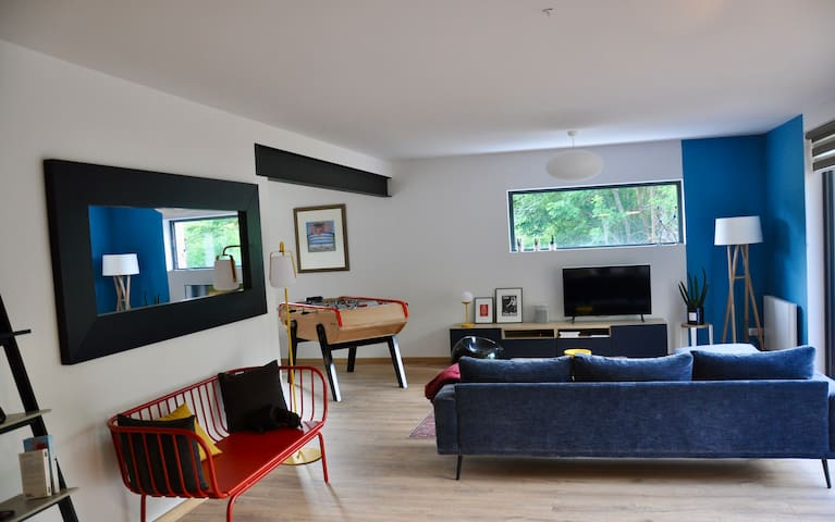 Nouveau Laruns, maison avec vue