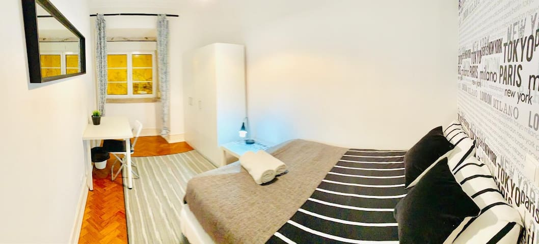 SINGLE ROOM IN LISBON, NEXT TO THE CITY CENTRE