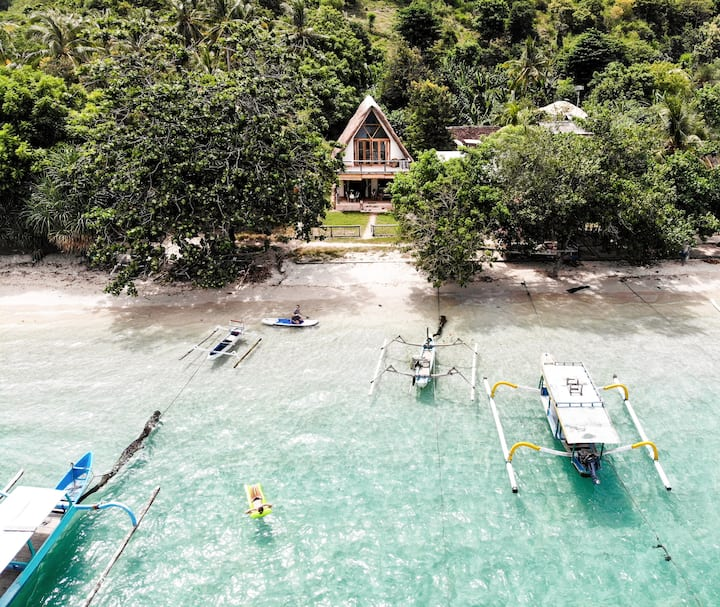 SISOQ- Your paradise island home in Gili Asahan