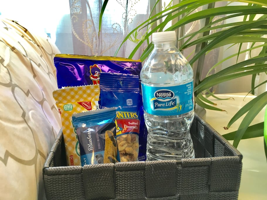 Enjoy yummy snacks in your room during your stay.