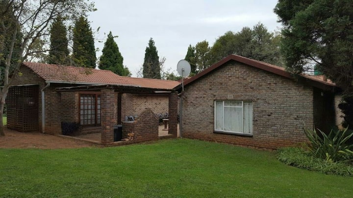 Patrys Paradys farmhouse with garden
