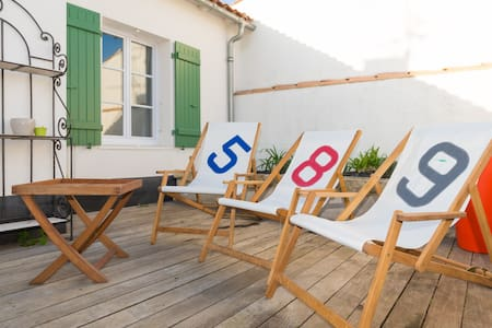 Cœur village / proche plage / calme - Sainte-Marie-de-Ré - 独立屋