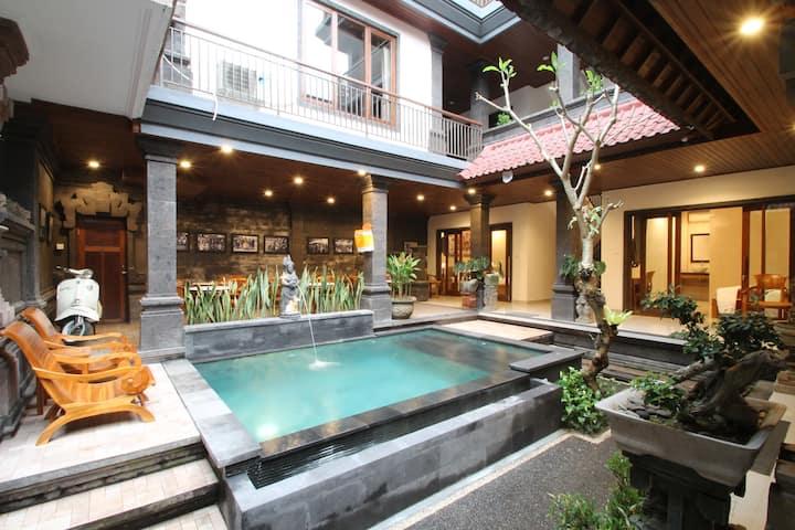 Yuni's House Ubud'-Affordable room w/Swimming Pool